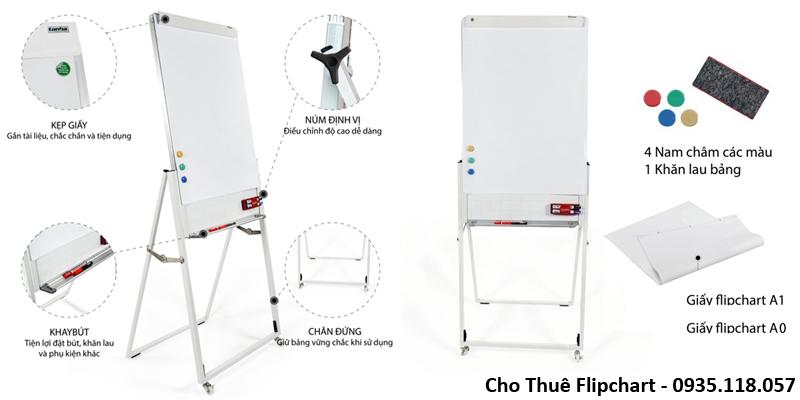 Cho Thuê Bang Flipchart tại TpHCM Giá Rẻ