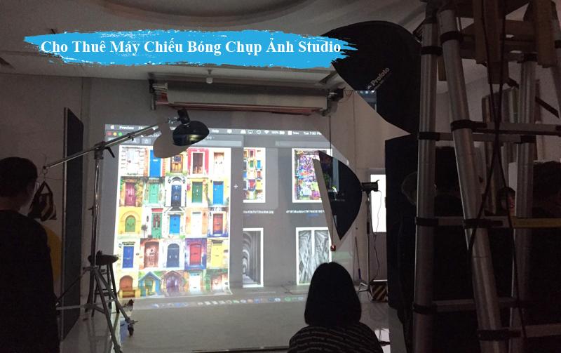 Cho Thue May Chieu Bong chup anh trong Studio tai tphcm