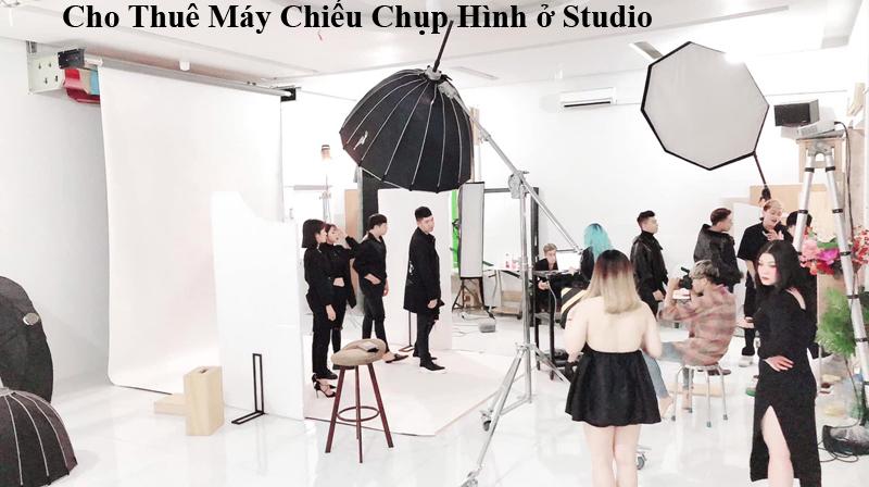 Cho thue may chieu o Studio