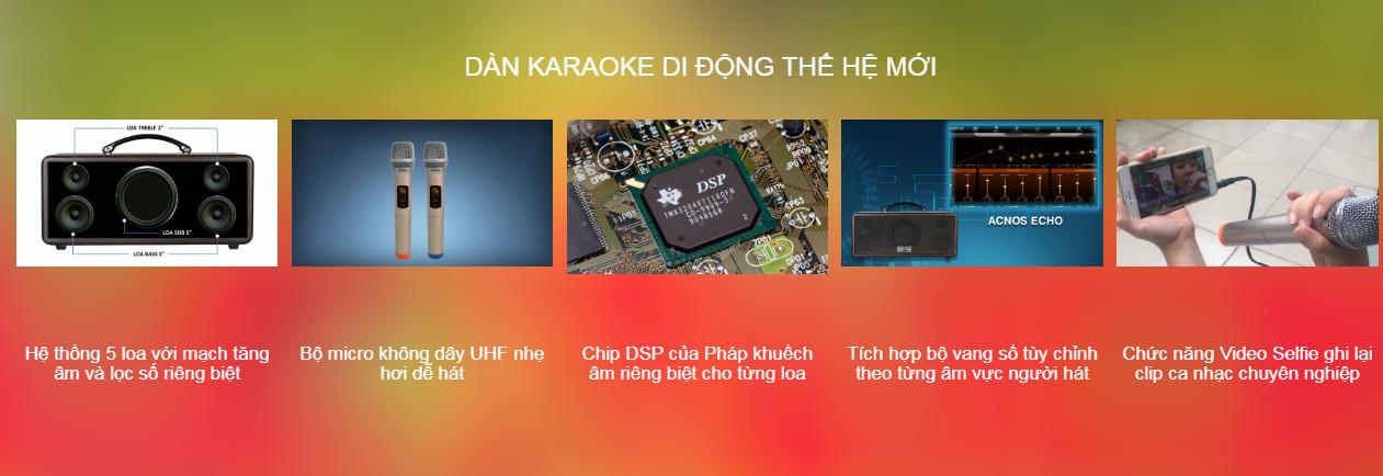 Dan-Loa-Karaoke-Di Dong-Beatbox-KS361