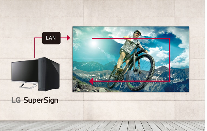 video wall LG 49VM5E