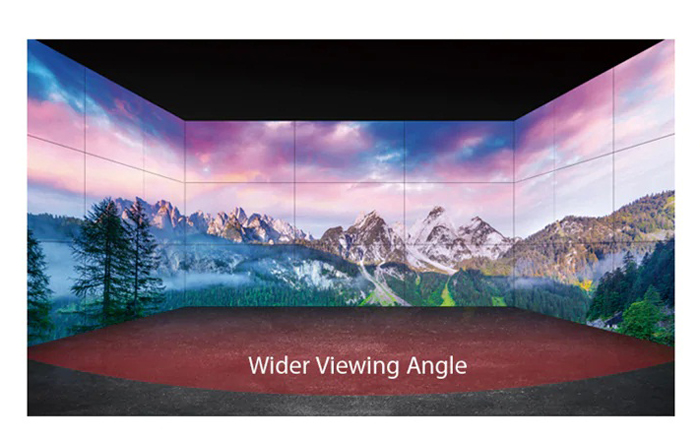 LG 55VH7E video wall