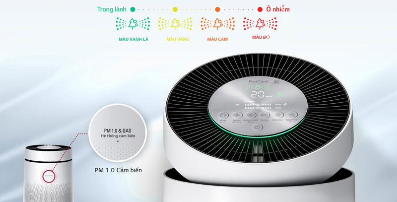 LG PuriCare AS95GDWV0 - máy lọc không khí 2 tầng (1)