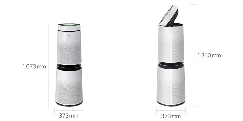 LG PuriCare AS95GDWV0 - máy lọc không khí 2 tầng (2)