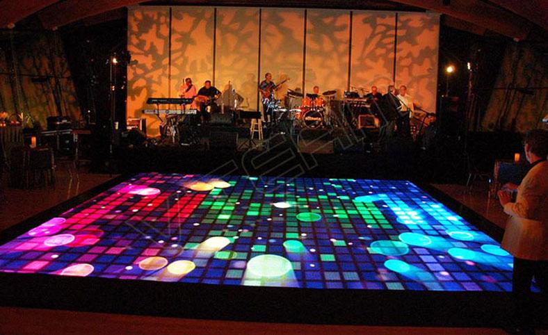 man hinh led san led floor screen