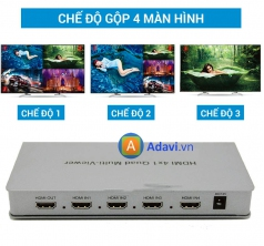 Bộ Gộp HDMI 4 In 1 Out